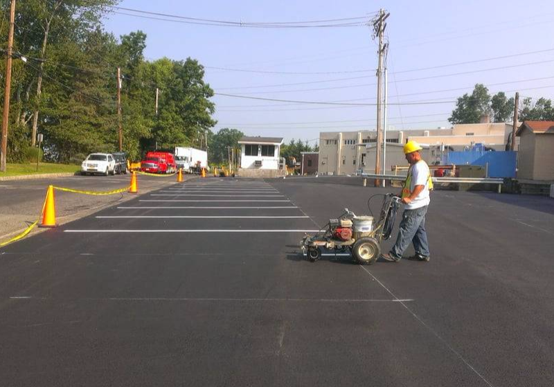 Warren County Commercial Line Striping NJ